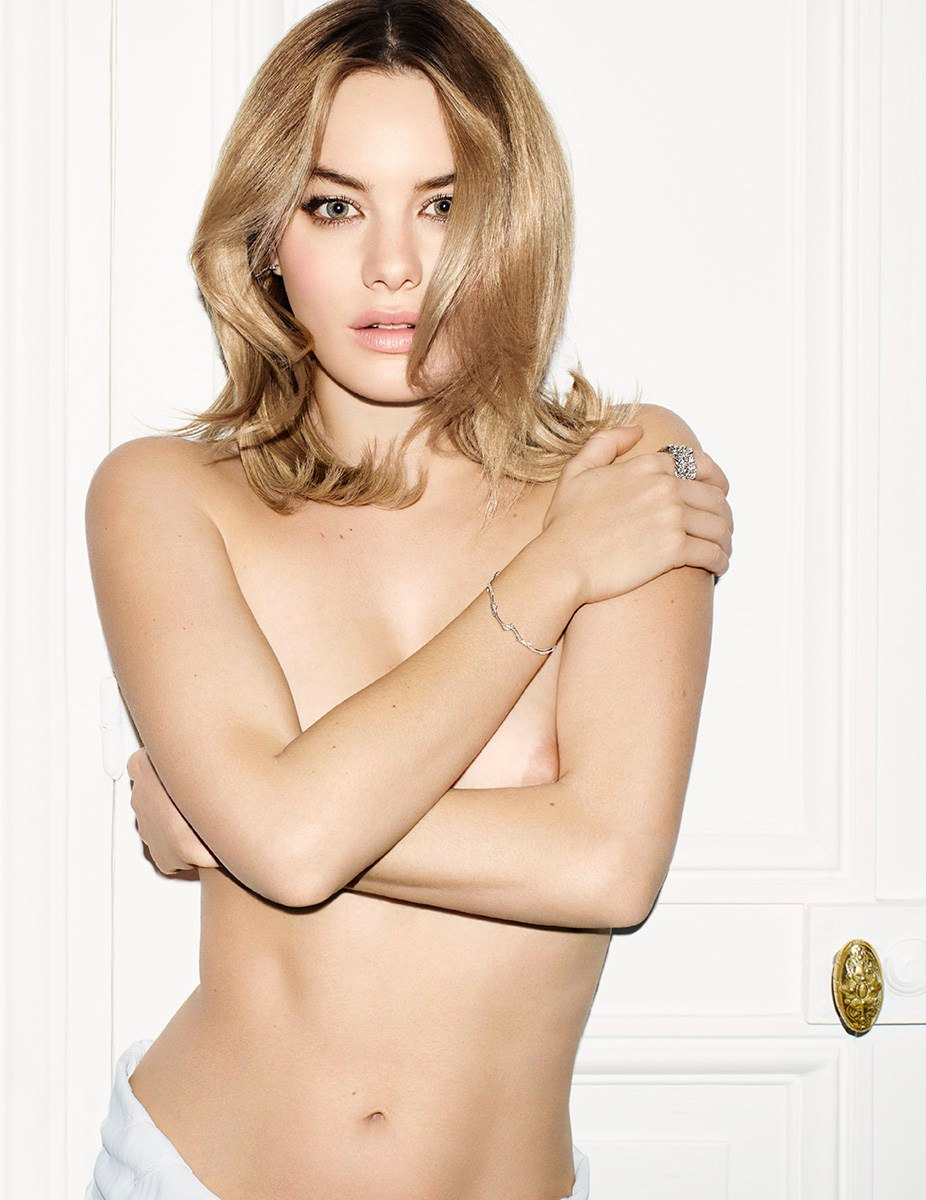 Camille Rowe Topless Phot...