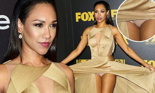 Candice Patton Upskirt Ph...