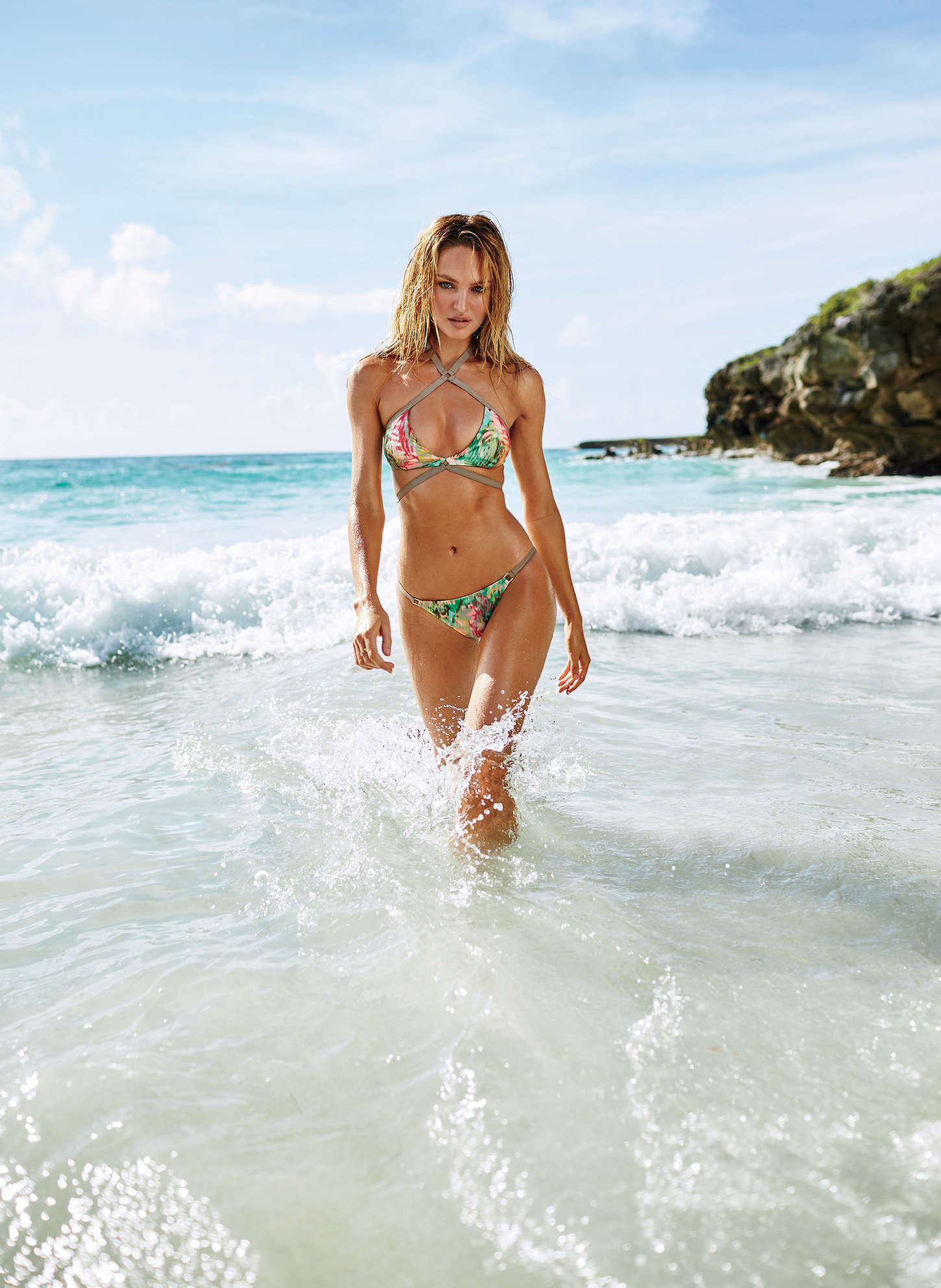 Candice Swanepoel –Swim Catalog 2015 (3)