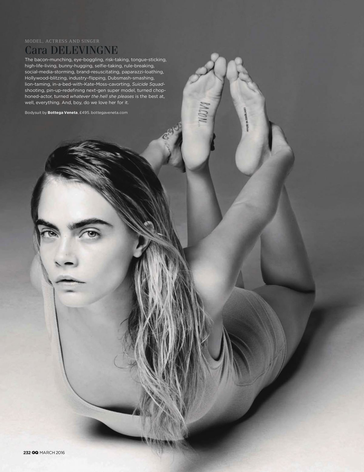 Sexy Pic Of Cara Deleving...