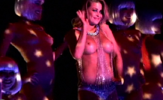 Carmen Electra Topless On...