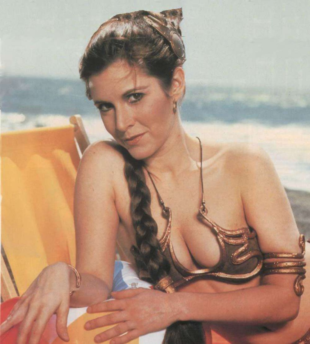 Carrie Fisher Sexy Pics