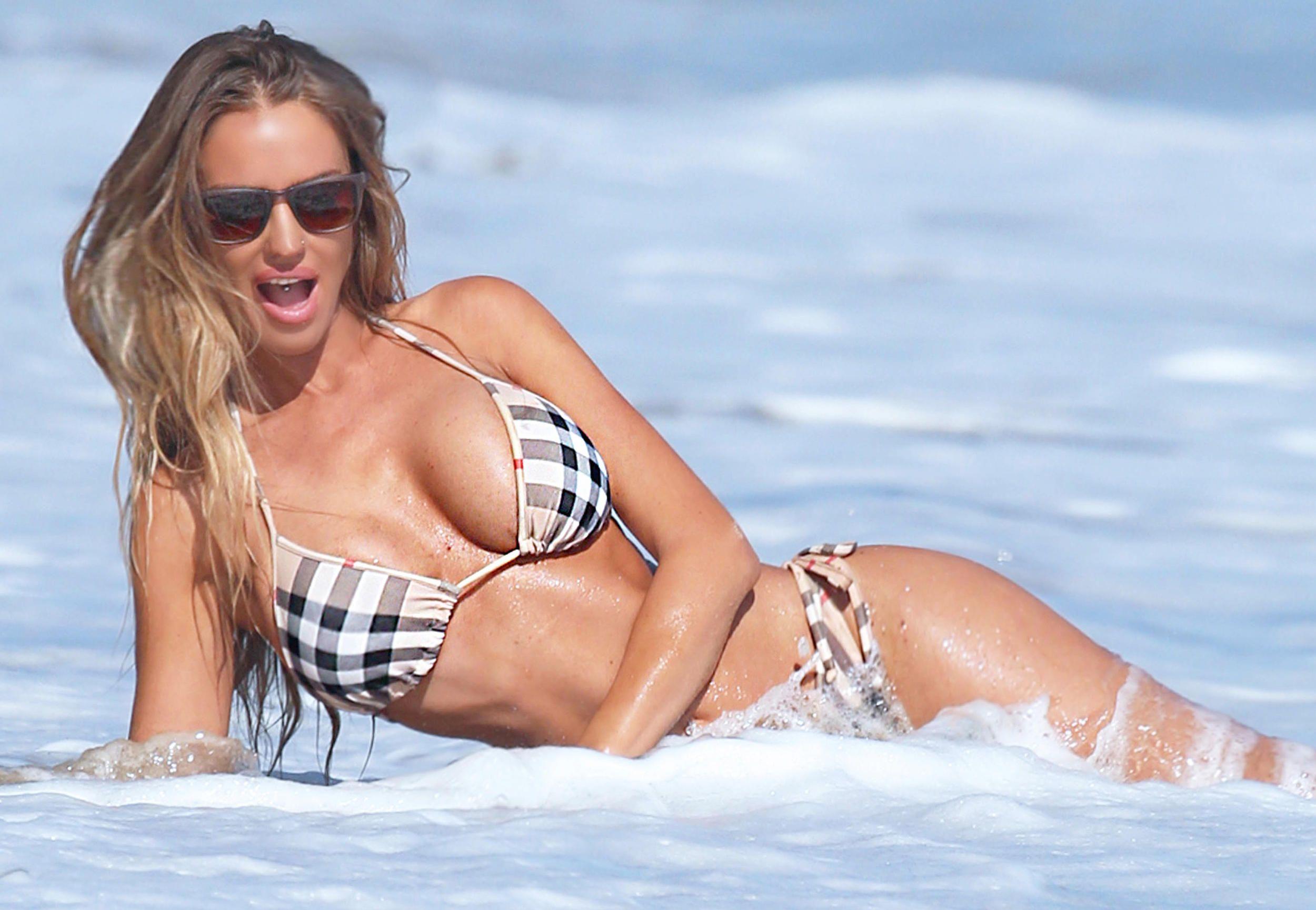 Charlie Riina Bikini Phot...