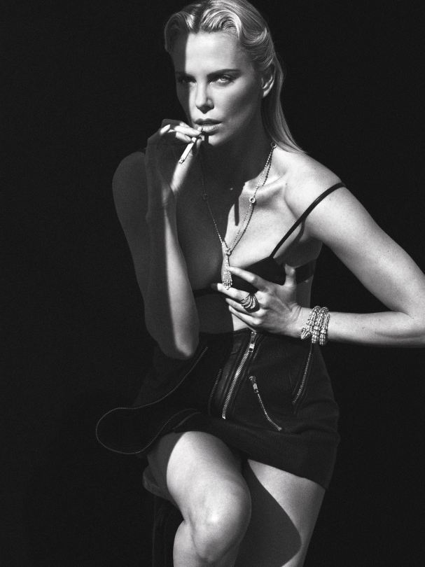 Charlize Theron Model Pic...