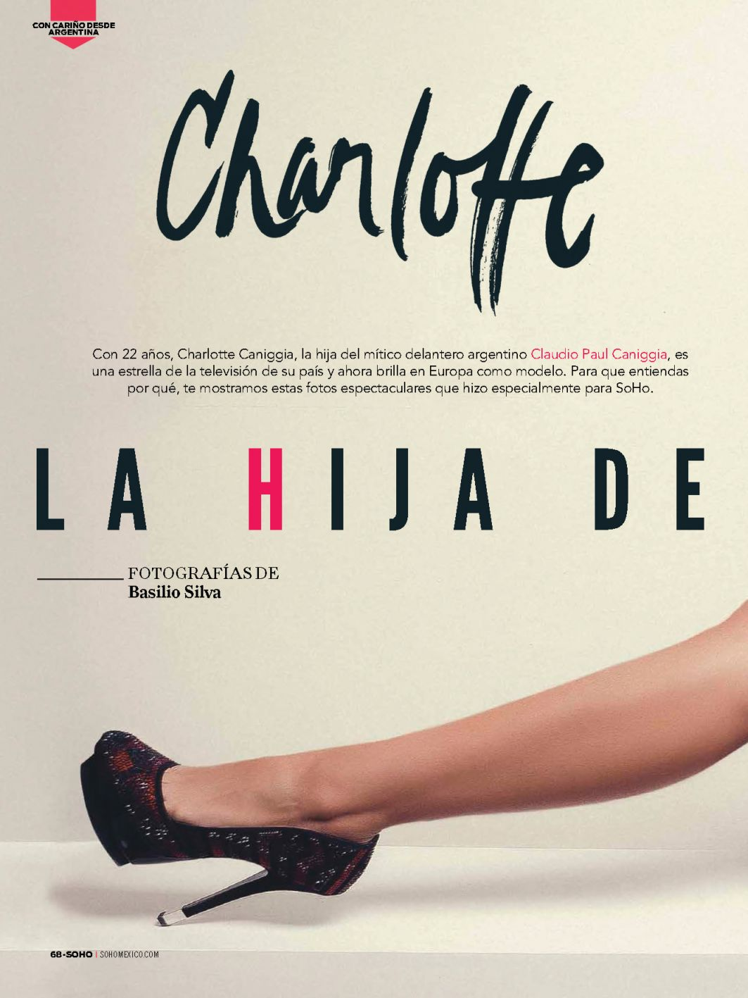 Charlotte Chaniggia Tople...