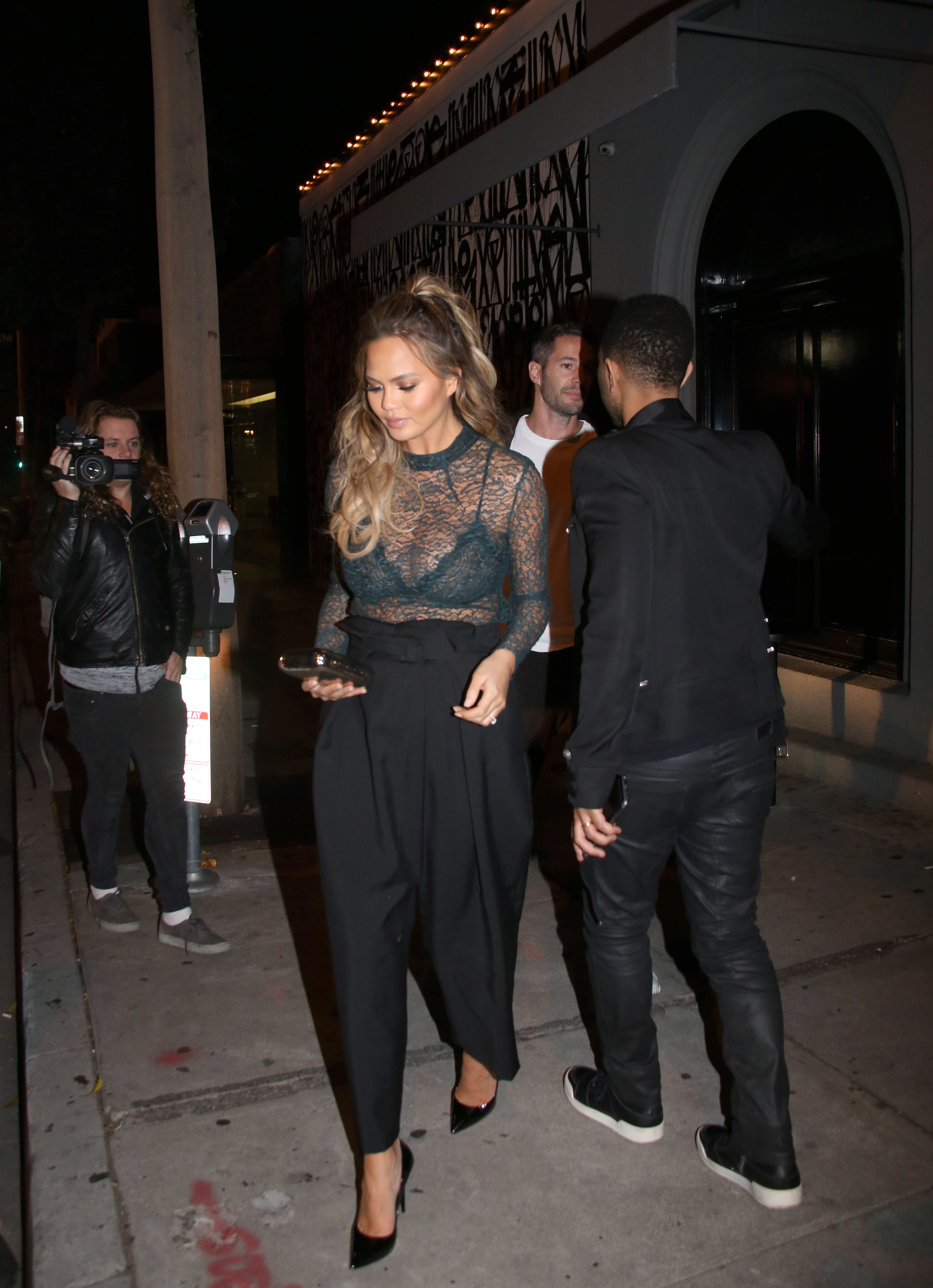 Chrissy Teigen See-throug...