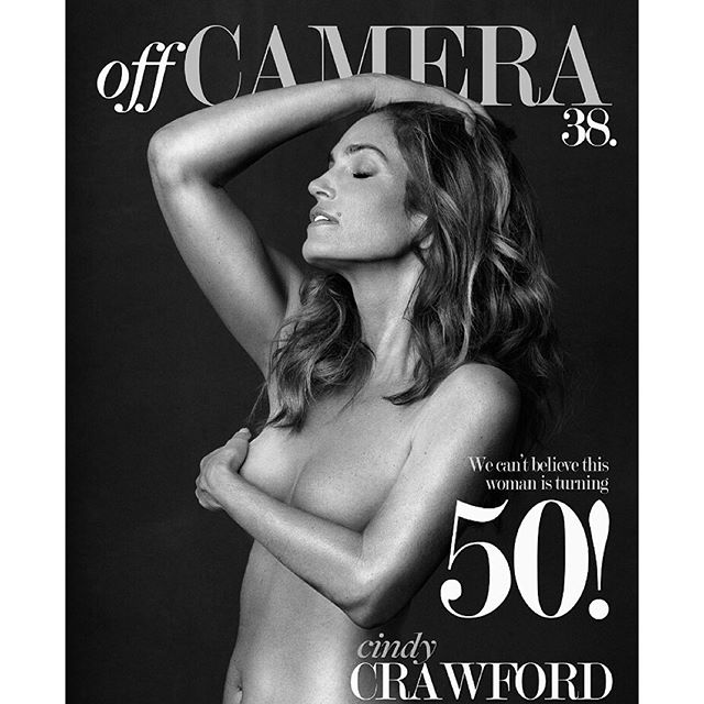Cindy Crawford Topless Ph...
