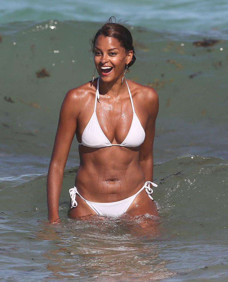 Claudia Jordan Bikini Pic...