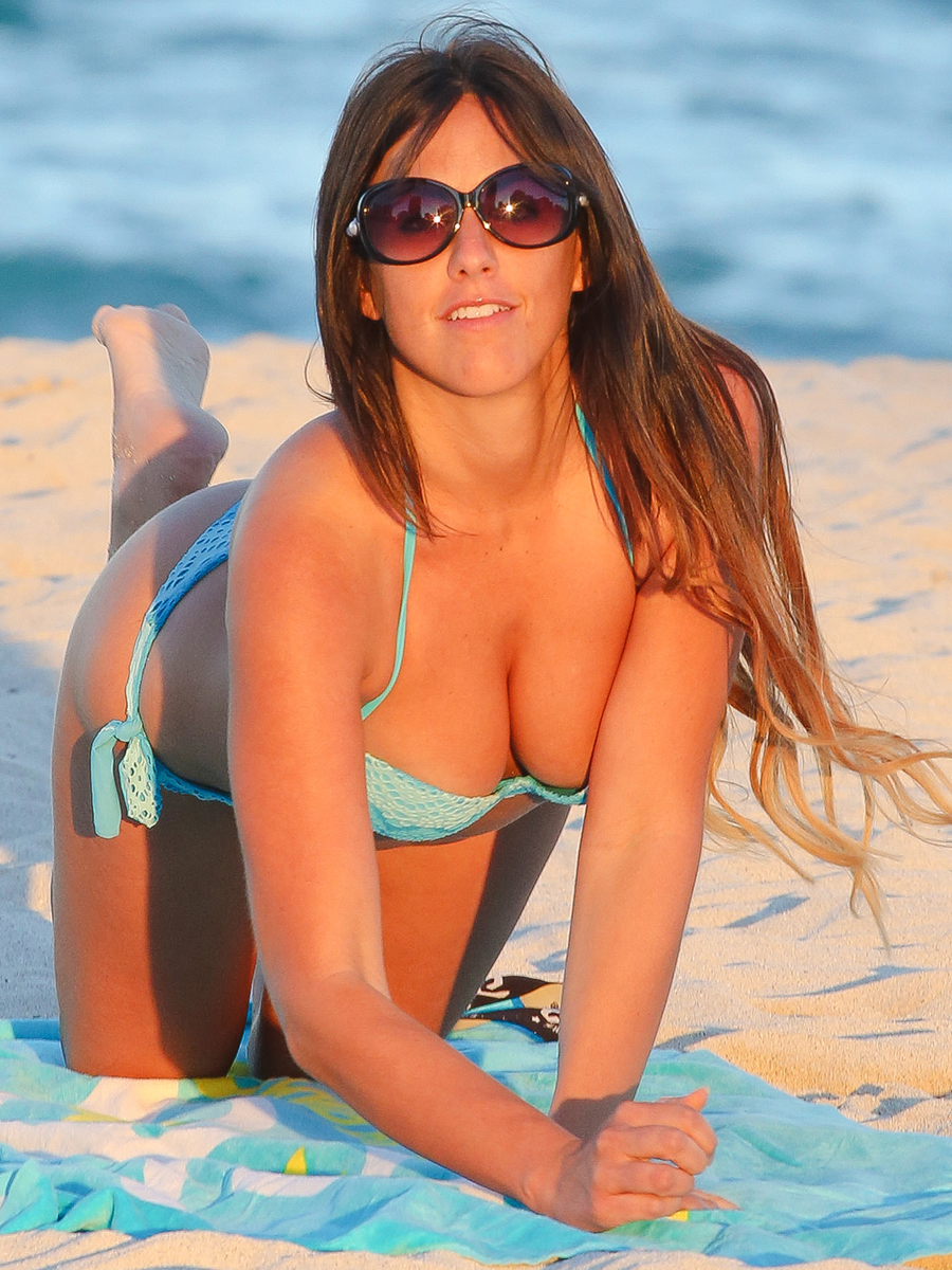 Claudia-Romani-in-a-Light-Blue-Bikini-and-Kangoo-Jumps-Later-in-Miami-07