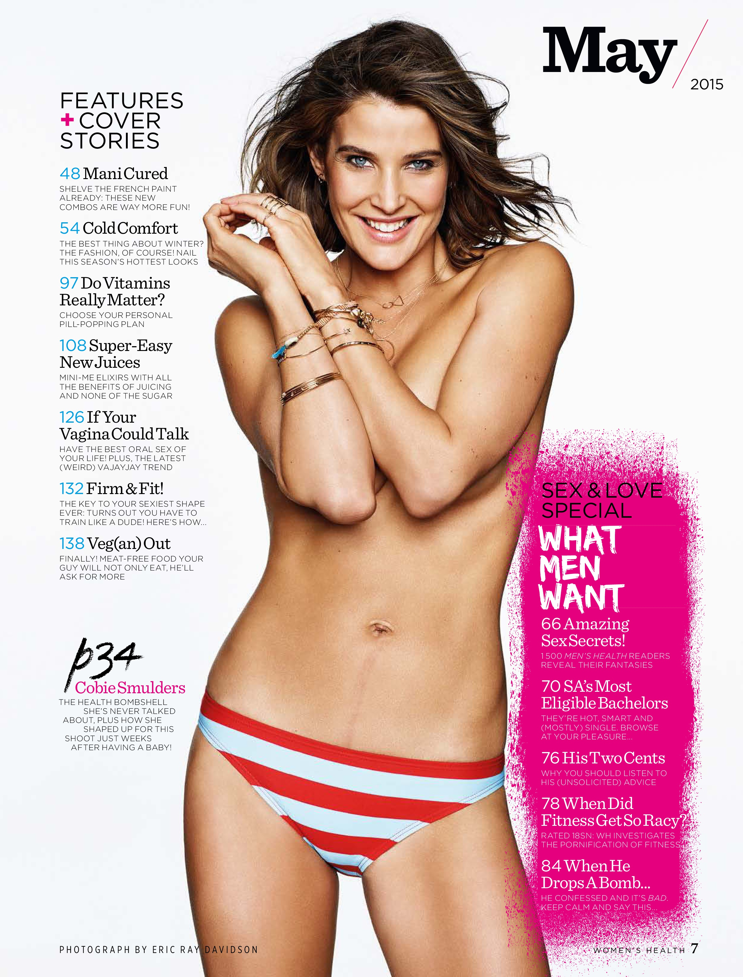 Cobie Smulders Topless Ph...
