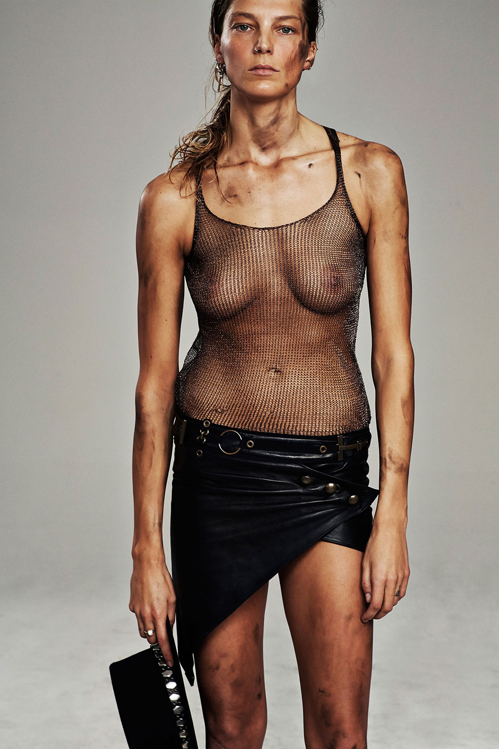 Daria Werbowy See-thru Ph...