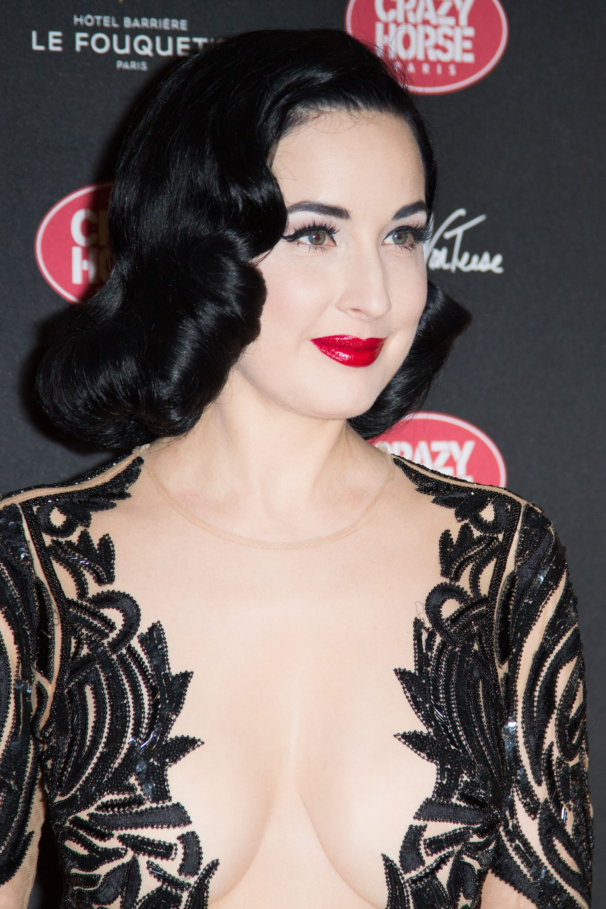 Cleavage Pics Of Dita Von...