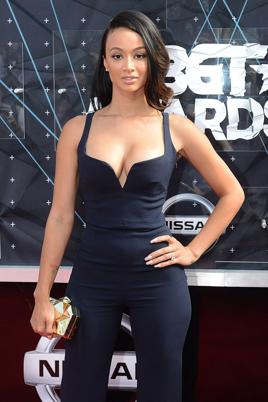 Draya Michele Cleavage Pi...