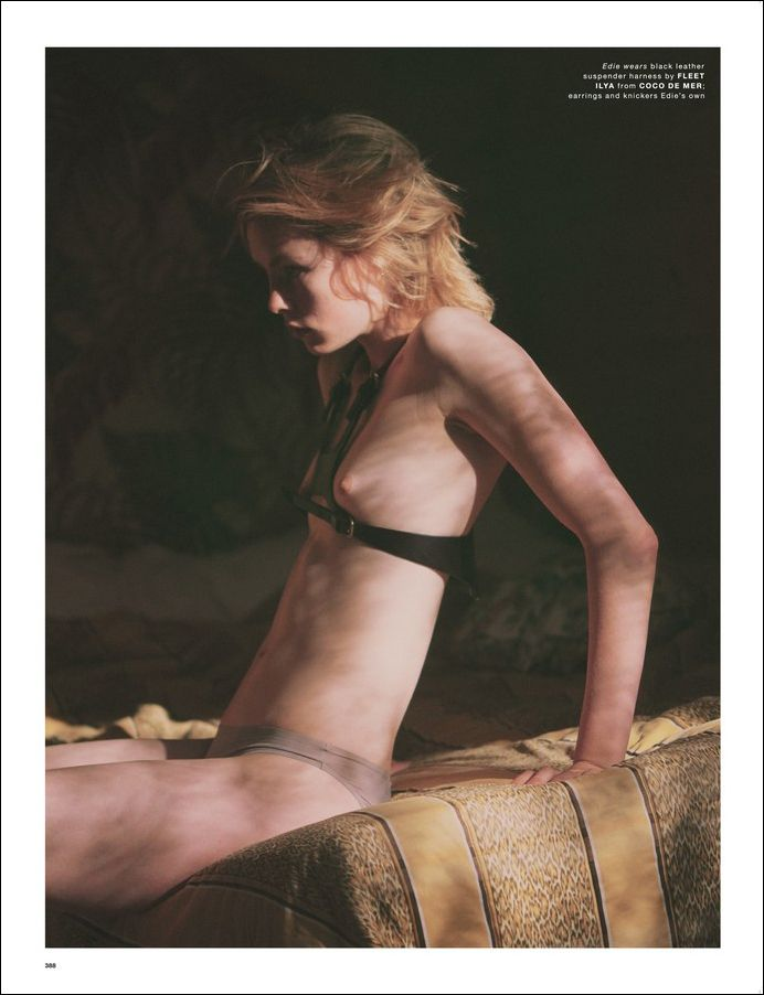 Edie Campbell Topless Pho...