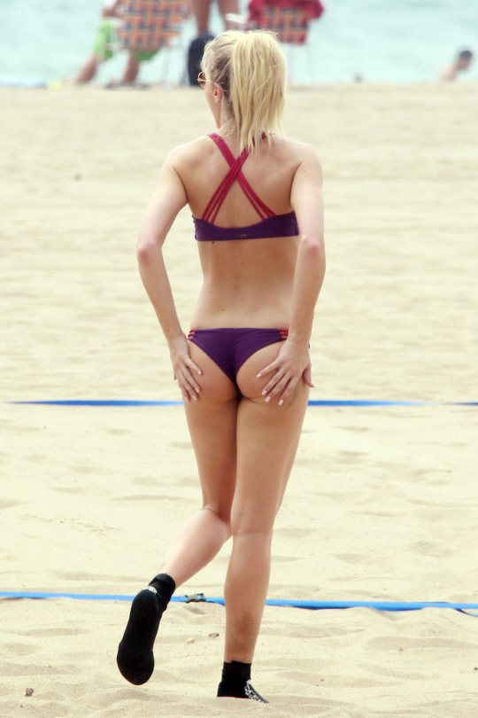 Elle Evans's Bikini...