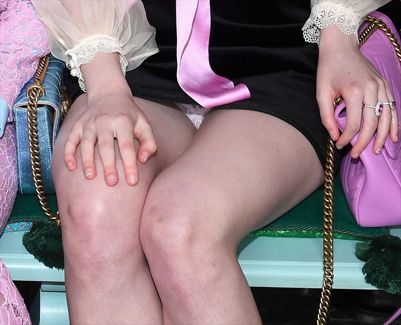 Upskirt Pics Of Elle Fann...