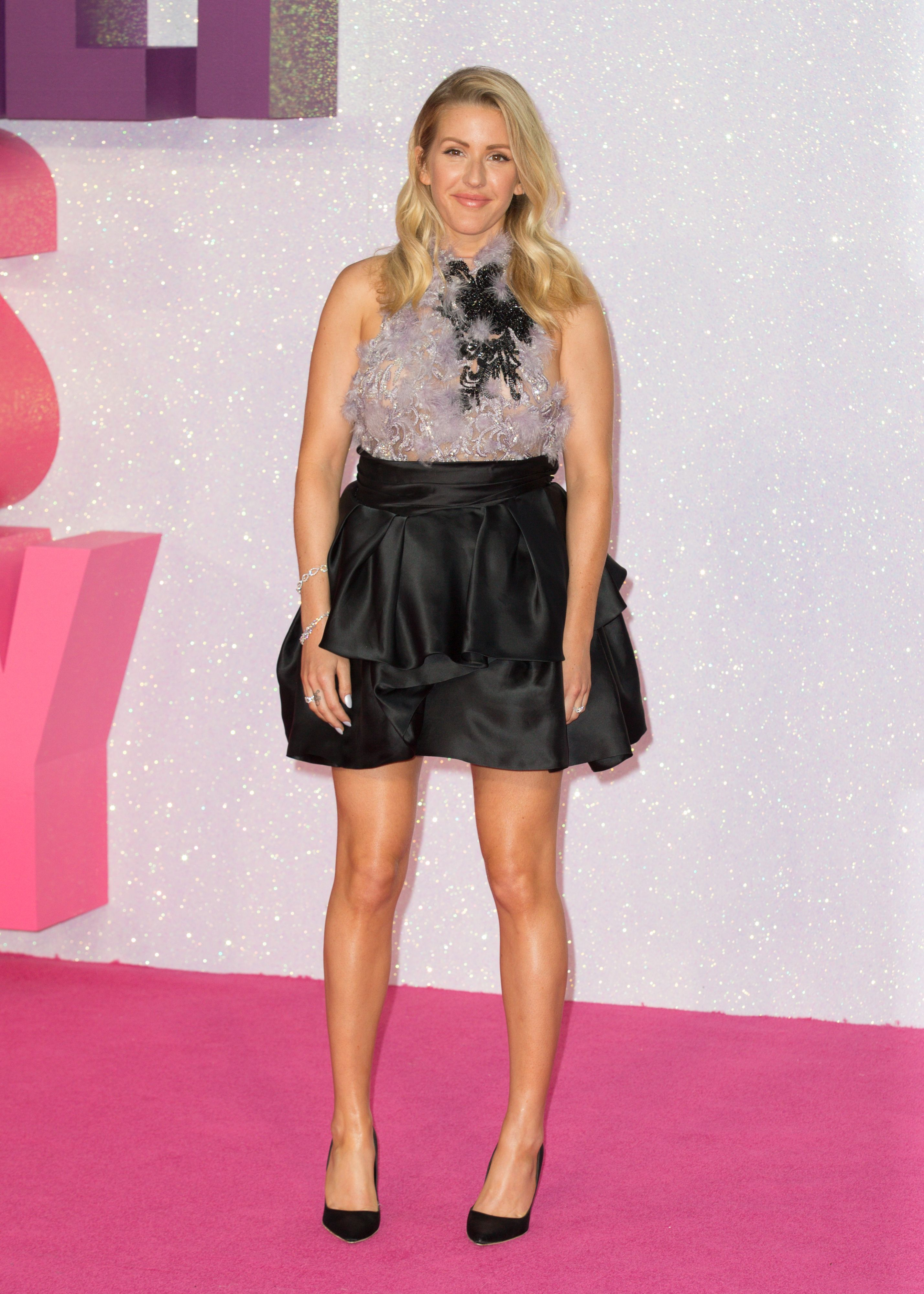 Ellie Goulding See-throug...
