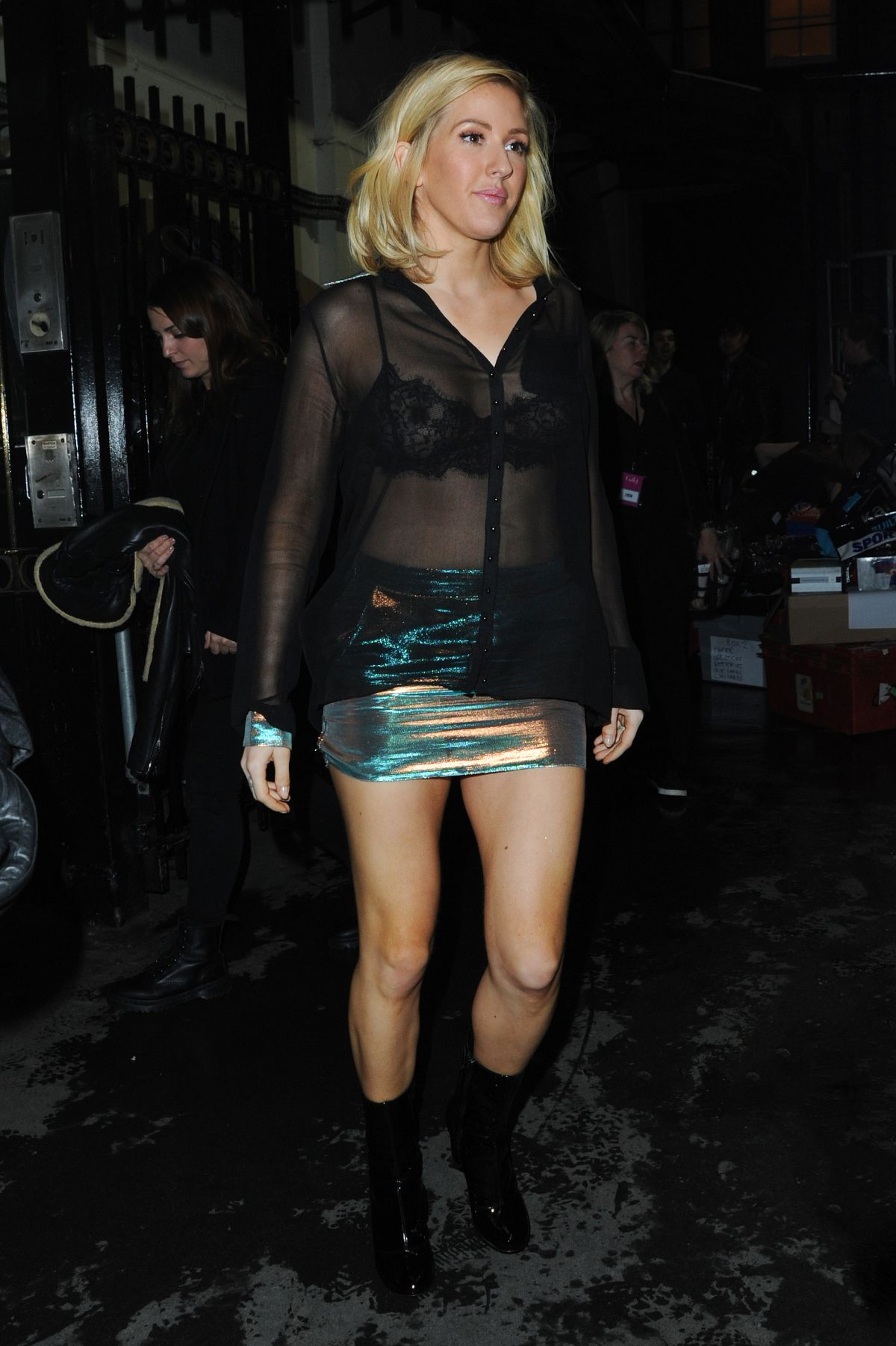 See-through Pics Of Ellie...