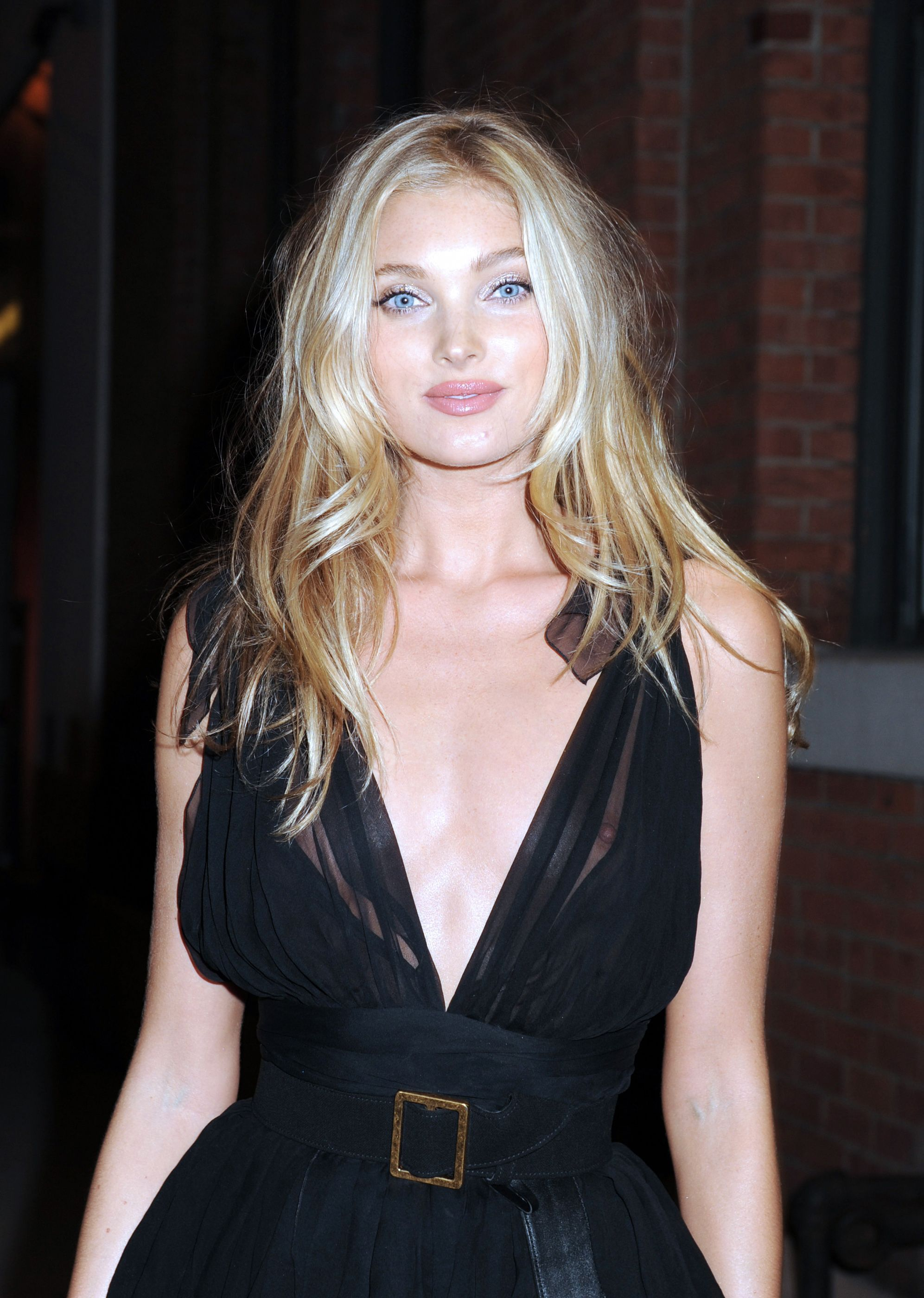 Elsa Hosk Braless Photos