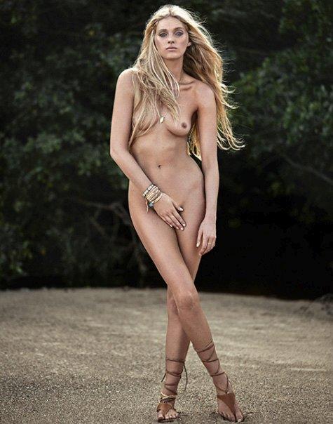 Elsa Hosk Nude Photoshoot