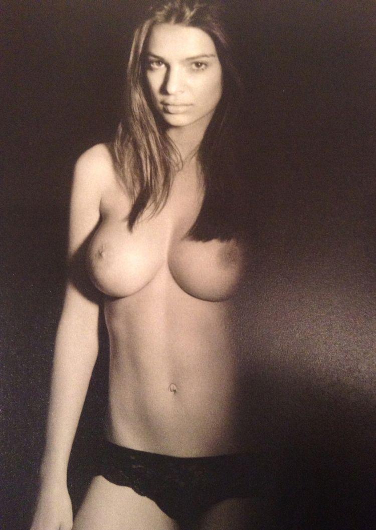 Emily Ratajkowski Topless...