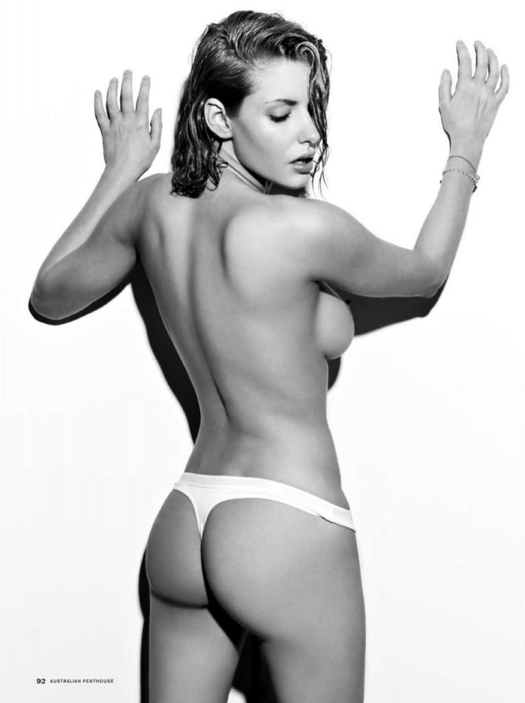 Gabi Grecko Posing Nude