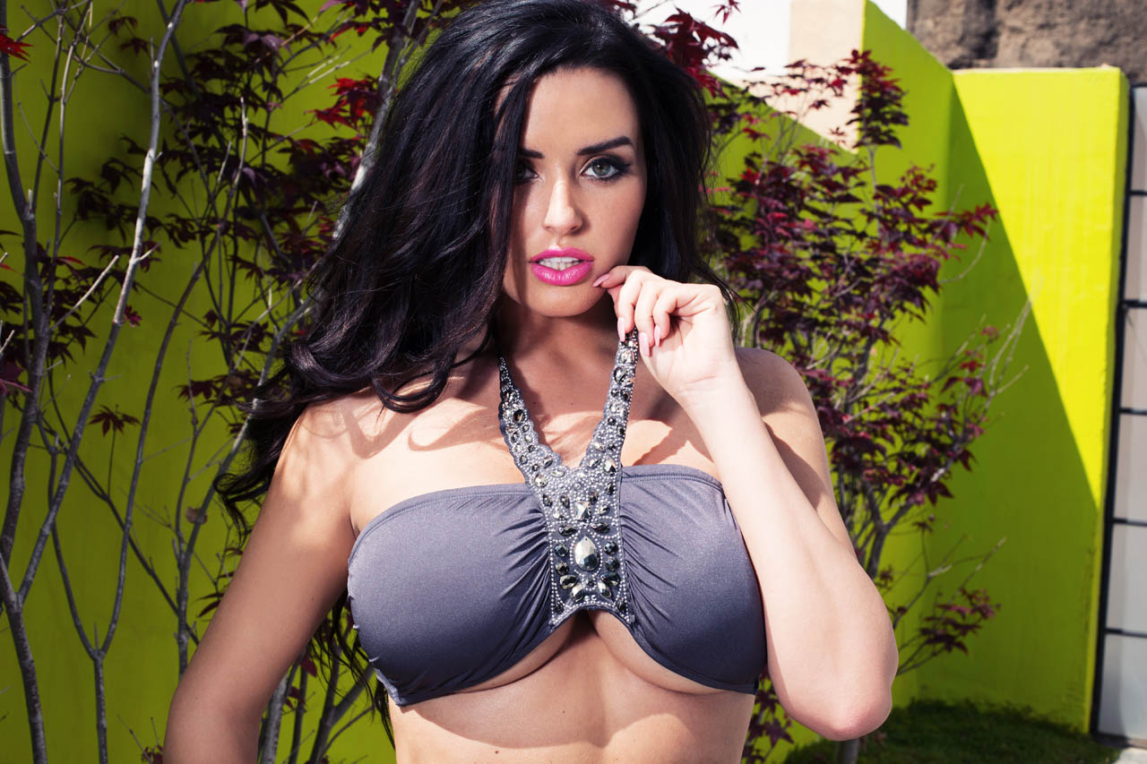 Abigail Ratchford In Grey...