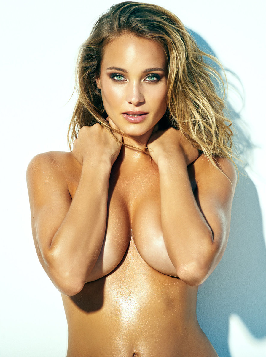 Hannah Davis Topless Phot...
