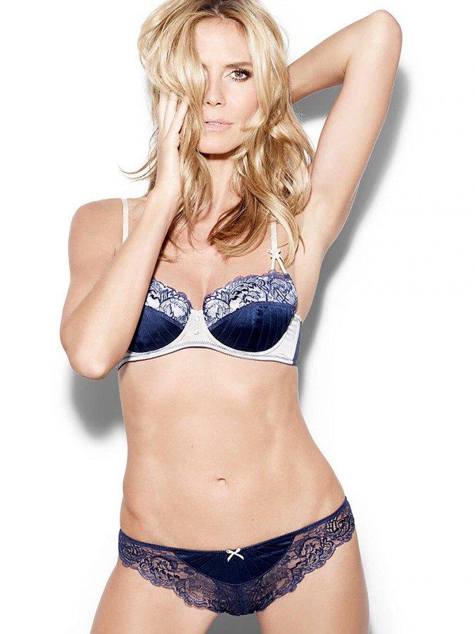 Heidi Klum In Sexy Linger...