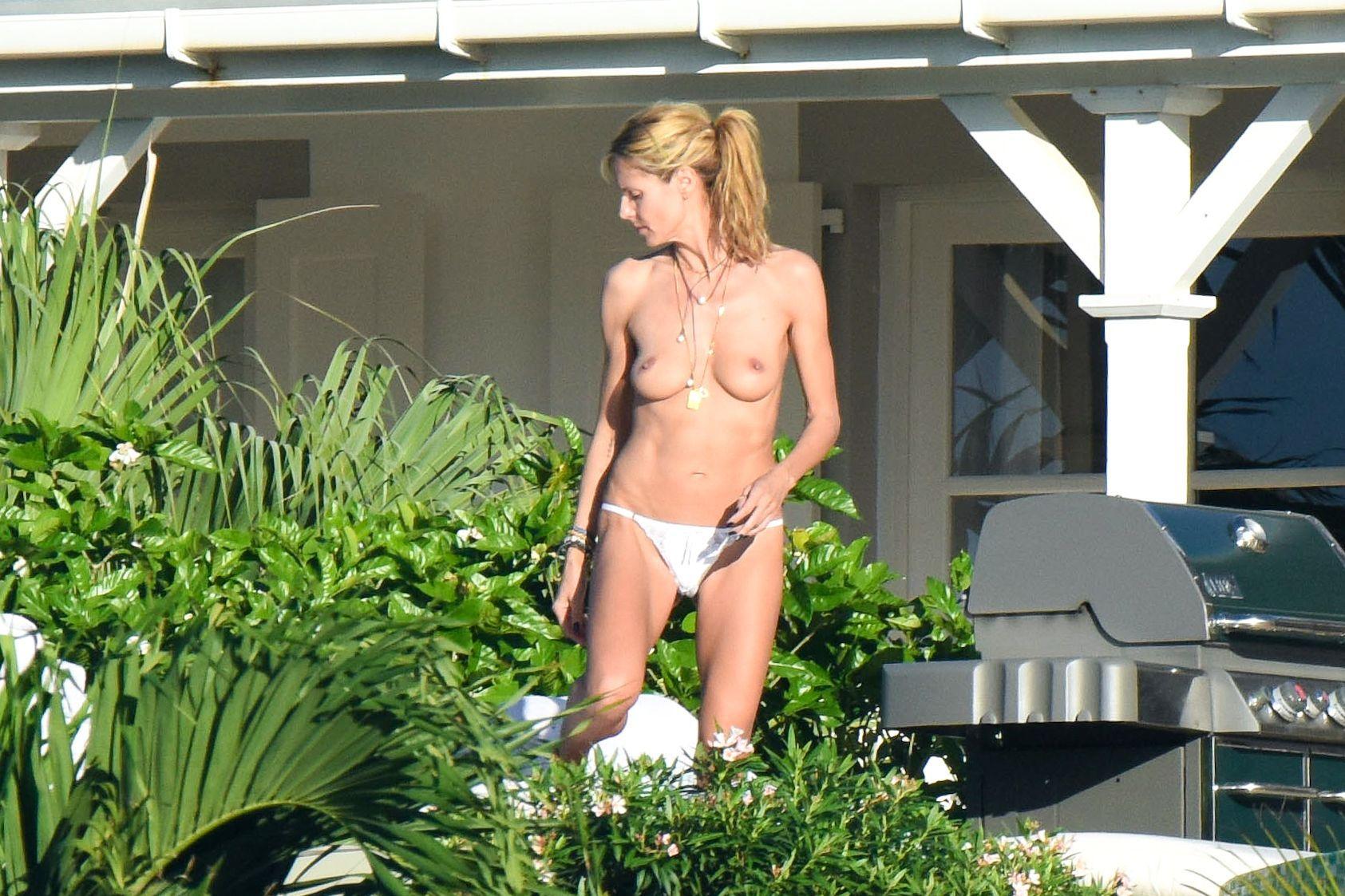 Topless Pics Of Heidi Klu...