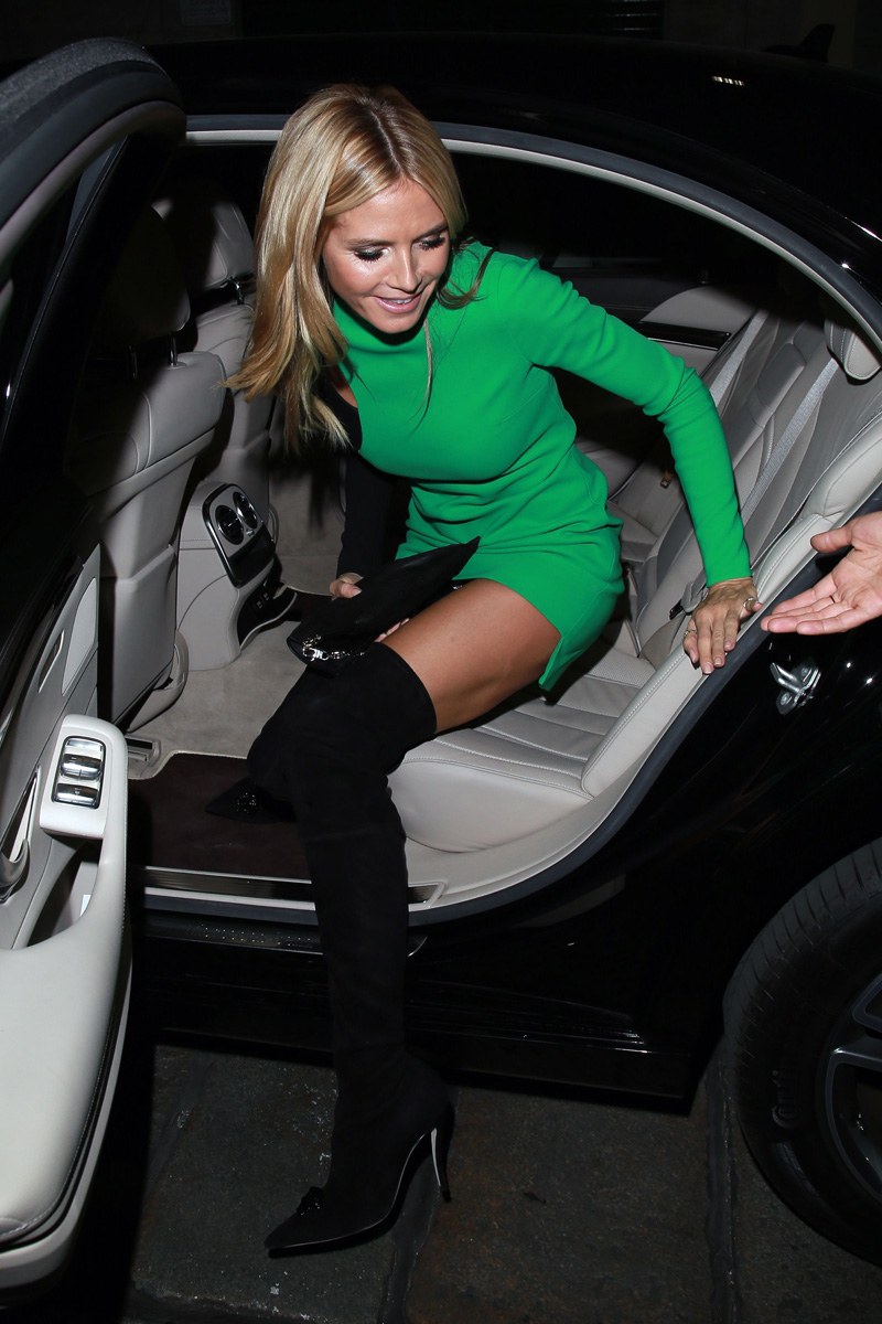 Heidi Klum Upskirt Photos