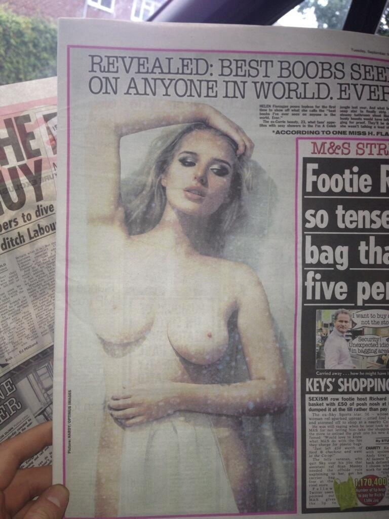 Helen Flanagan Nude Photo...