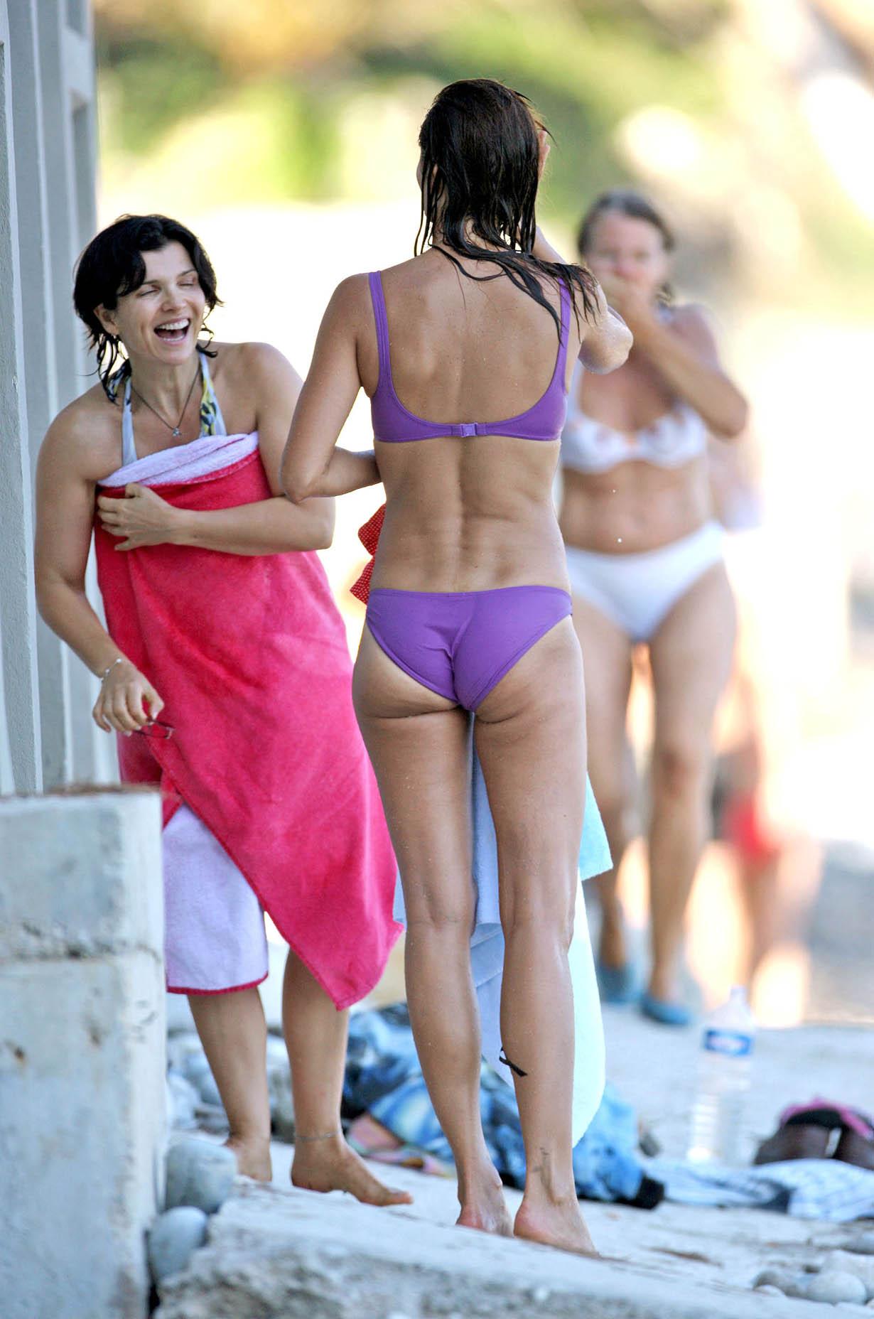 Helena Christensen Bikini...