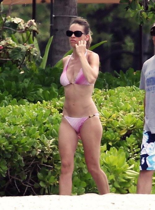 Hilary Ann Swank Bikini P...
