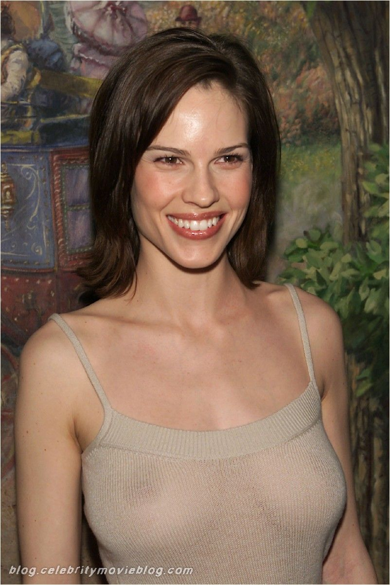 Hilary Swank Nipples