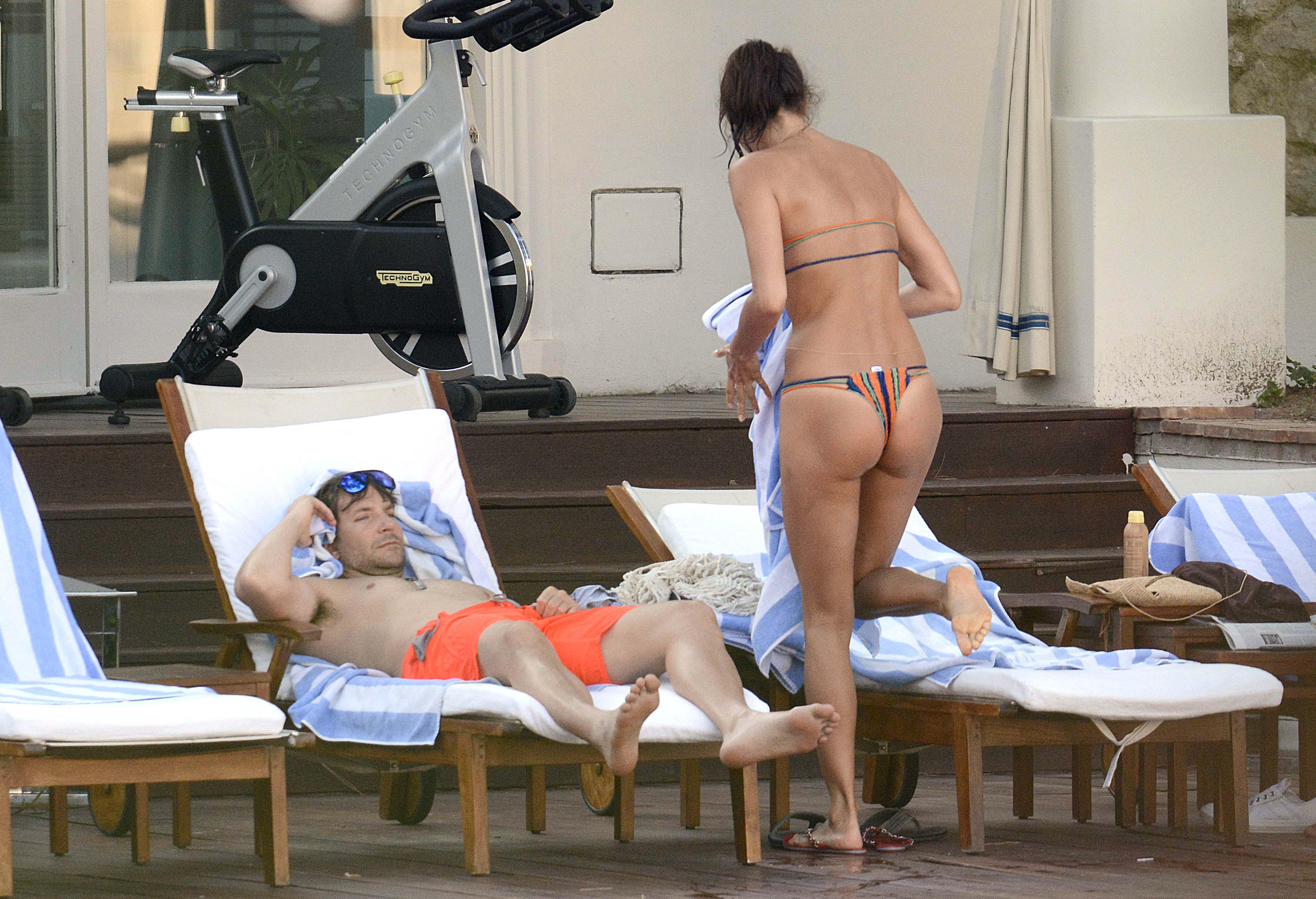 Irina Shayk's Booty...
