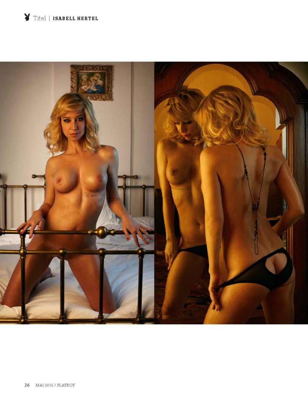 Isabell Hertel Nude Photo...