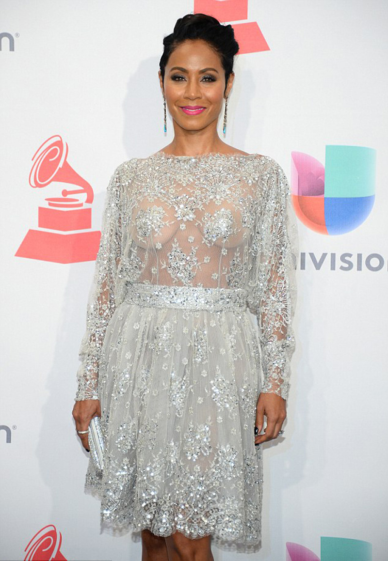 Jada Pinkett Smith See-th...