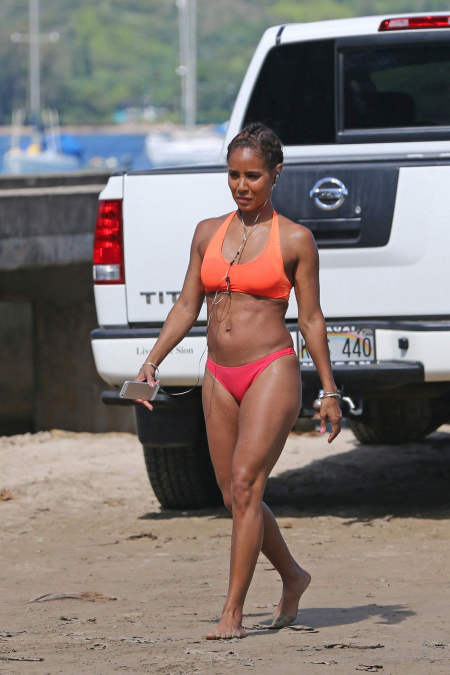 Jada Pinkett Smith Bikini...