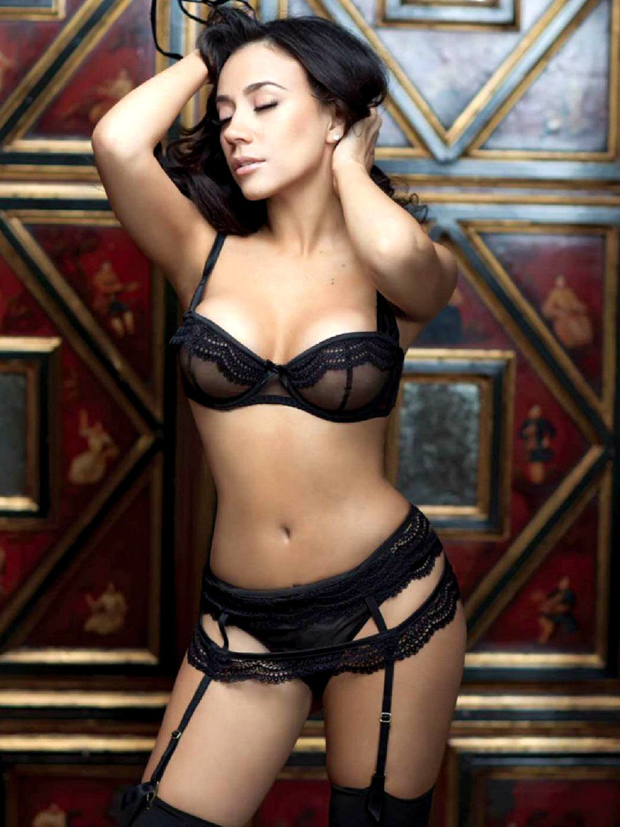Jass Reyes Sexy Lingerie Photo session October-2014-13