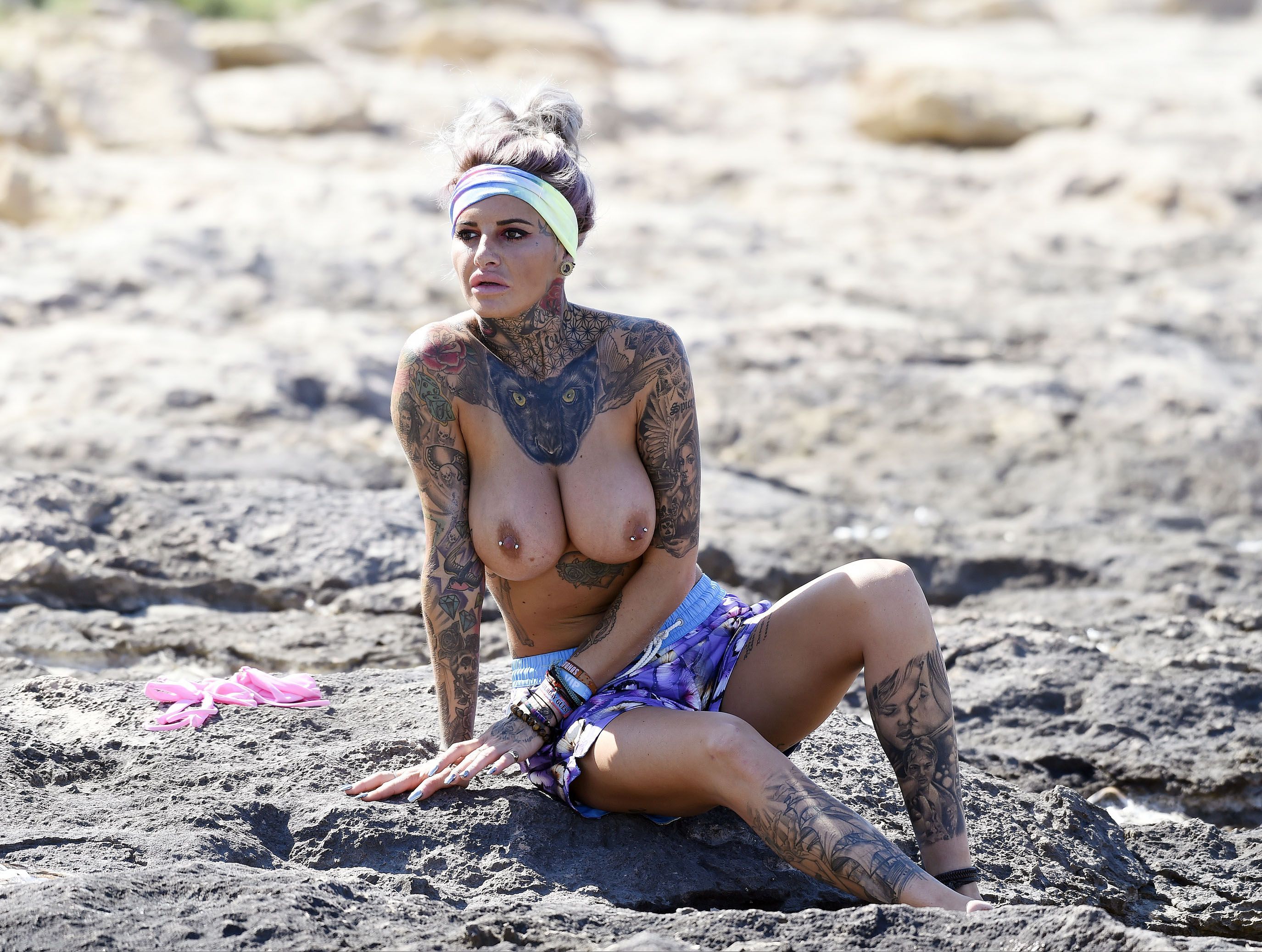 Jemma Lucy Topless Photos
