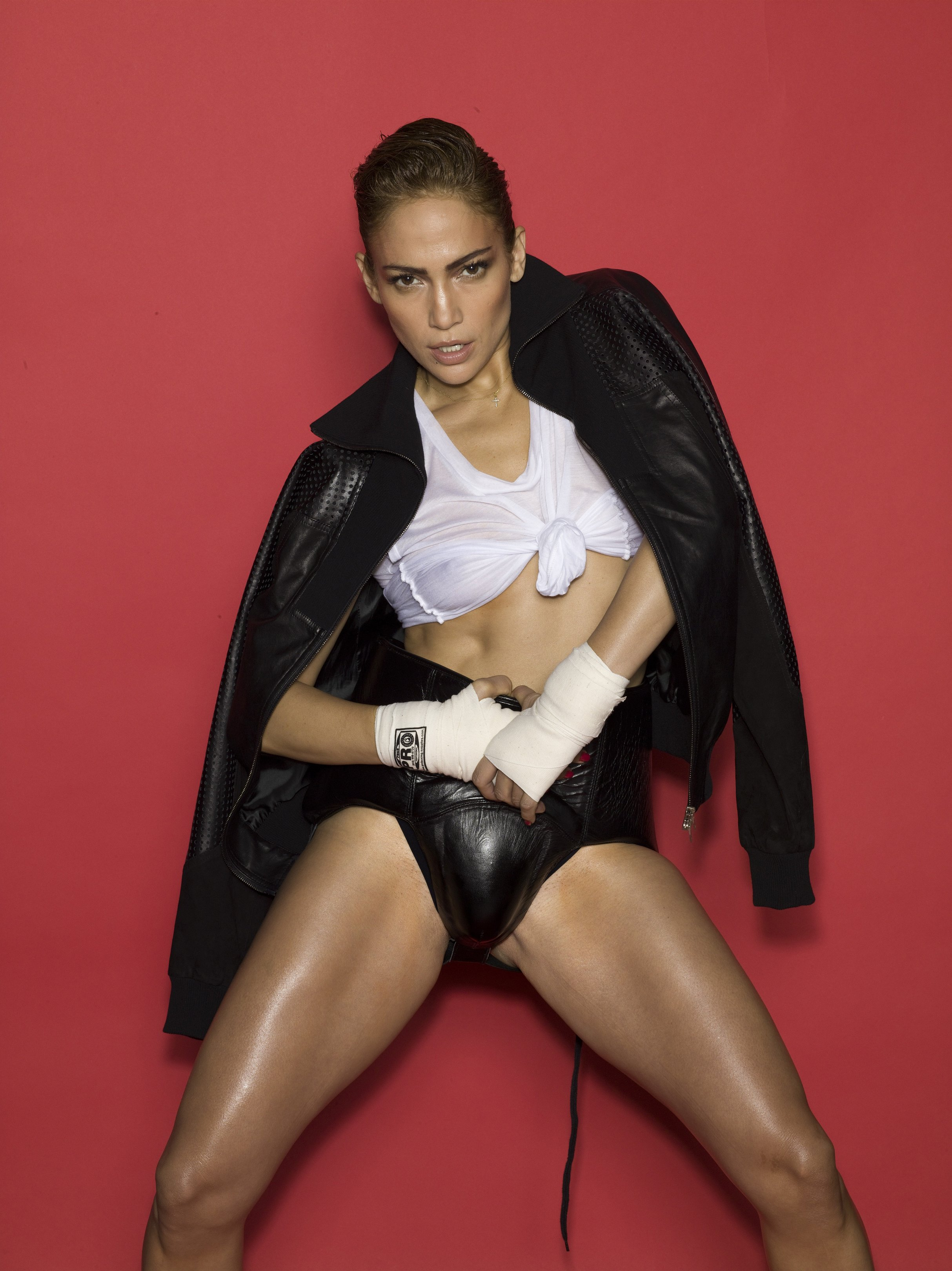 Jennifer Lopez In See-thr...