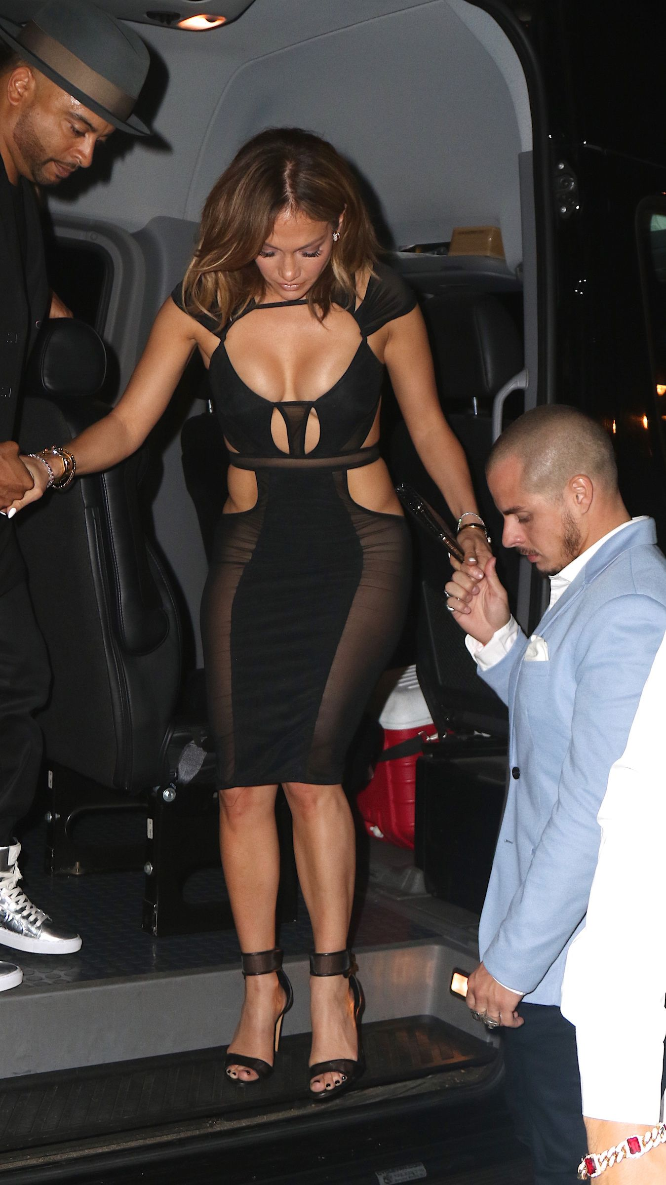 Jennifer Lopez See-throug...