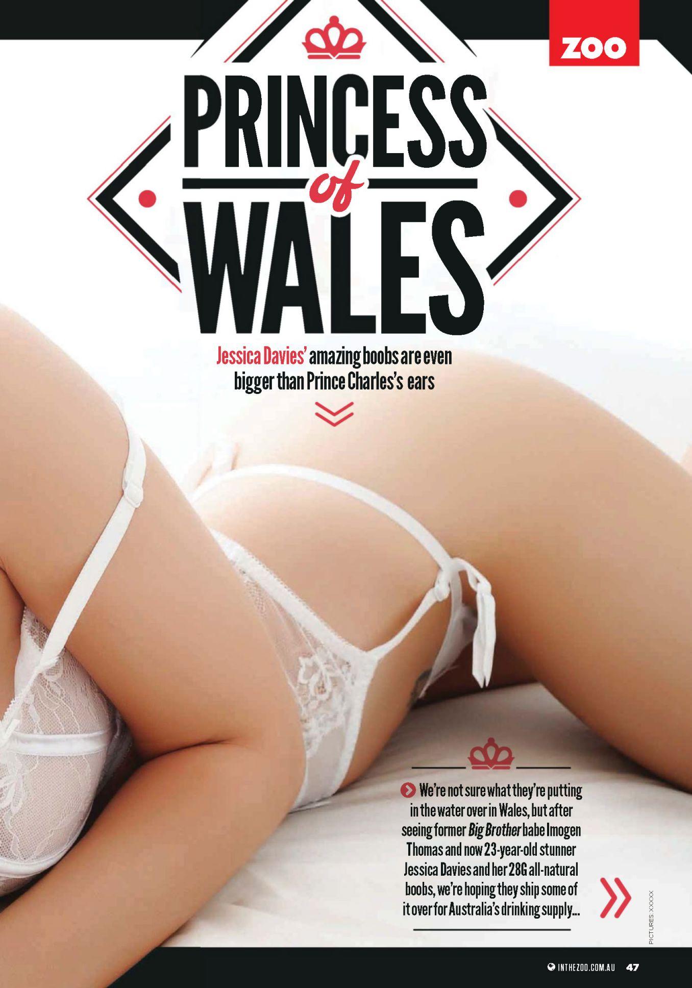 Jessica Davies Bikini Pic...
