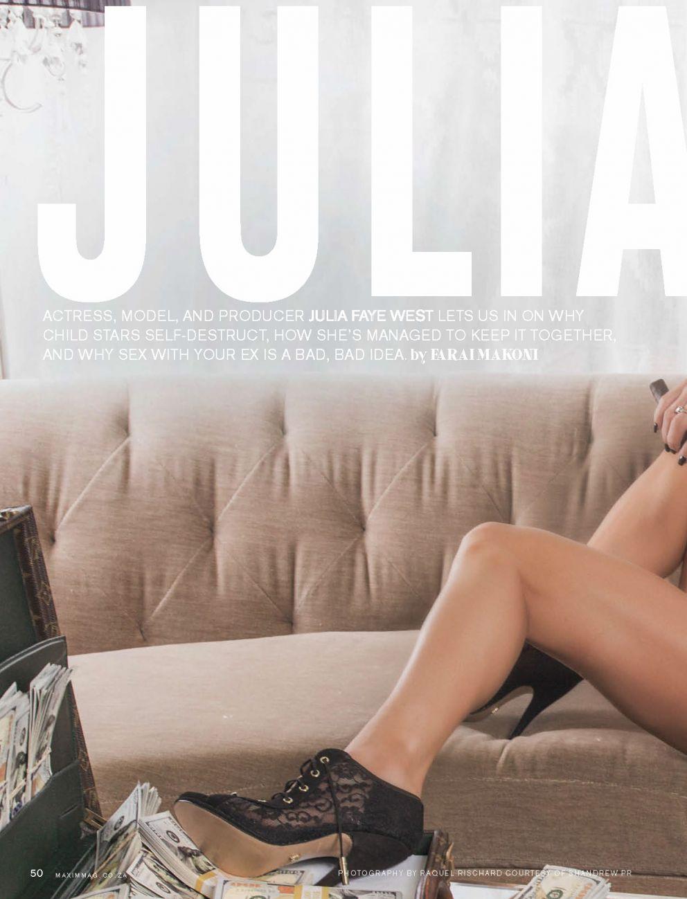 Julia Faye Bikini Photosh...