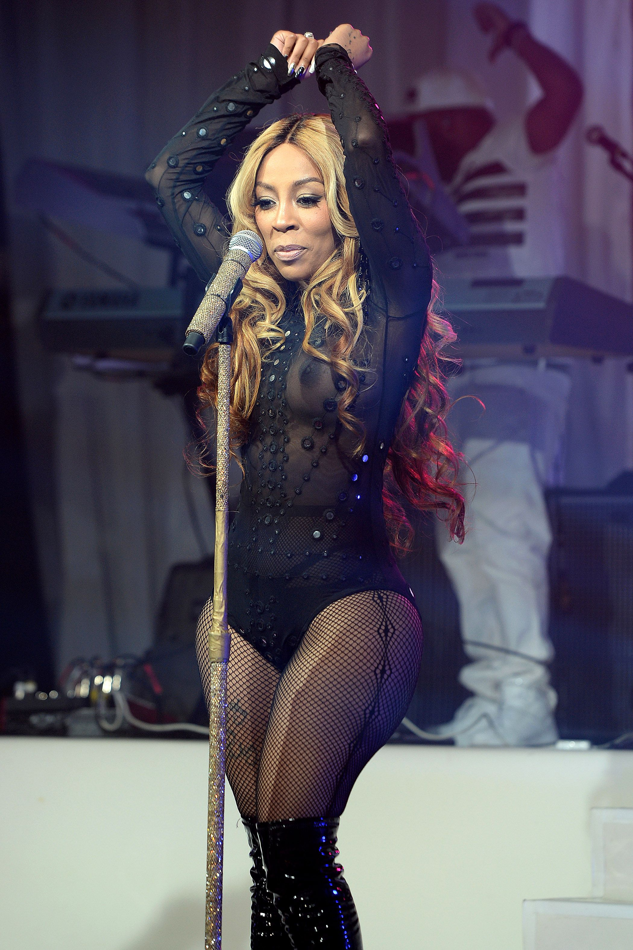 K. Michelle See-through P...