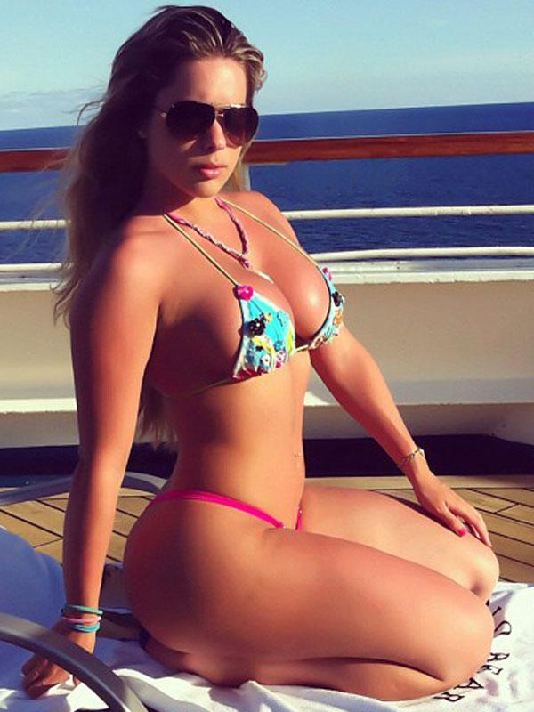 Kathy Ferreiro Hot Bikini