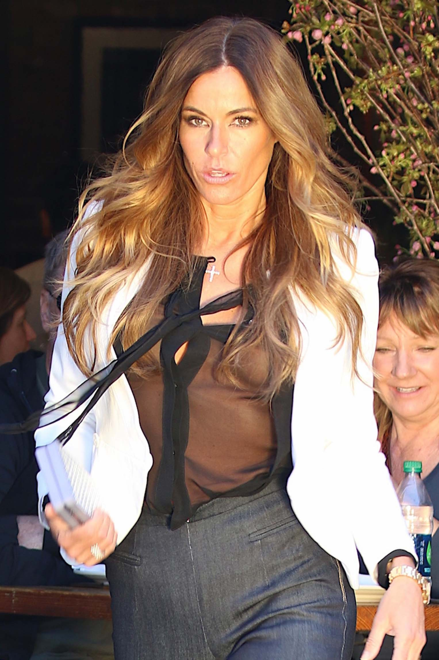 Kelly Bensimon See-thru S...