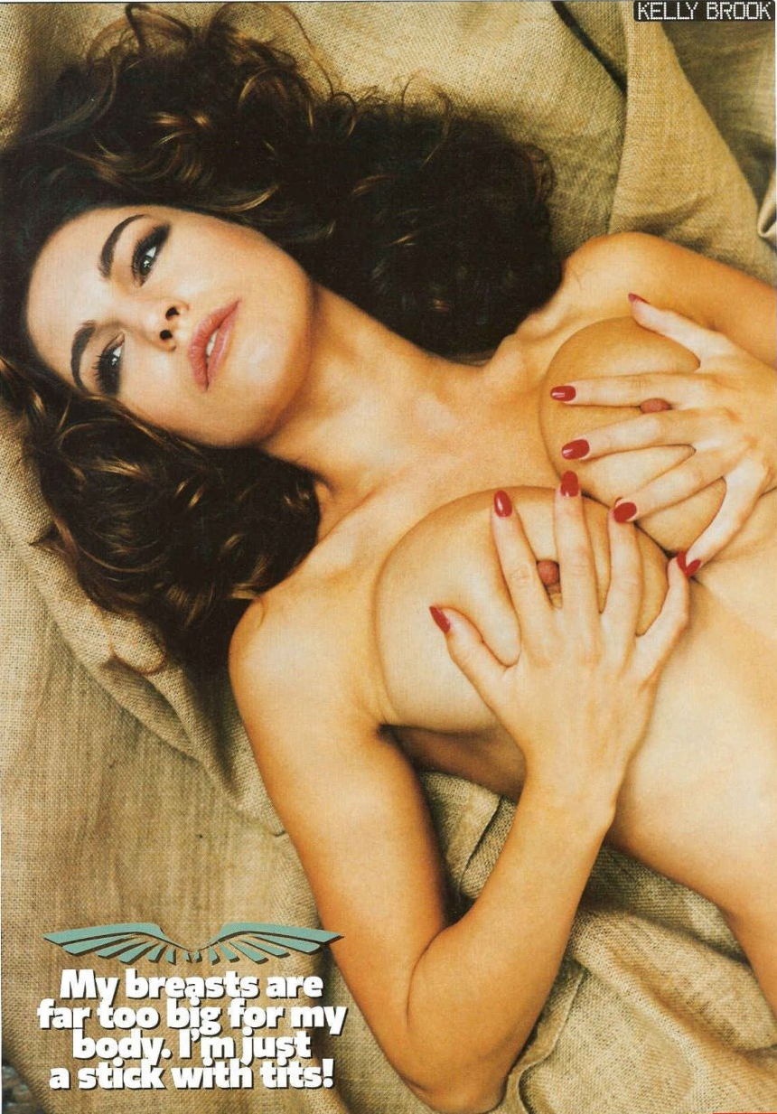 Kelly Brook Hot Nude Pics