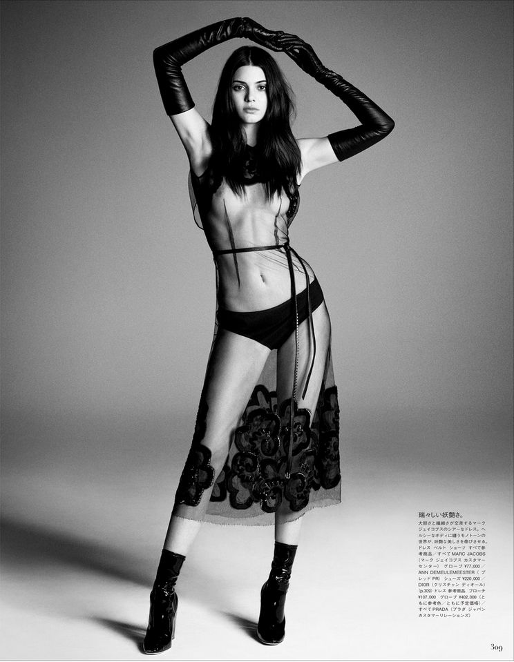Kendall Jenner Topless Ph...
